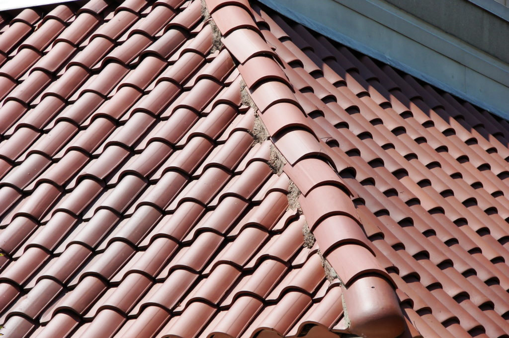 pitch of the roof