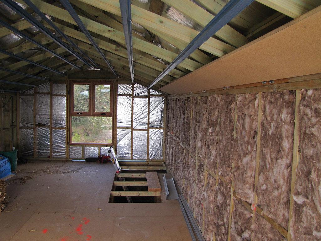 roof insulation in attic
